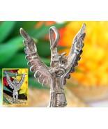 Winged Eagle Dancer Kachina Pendant Native American Sterling Silver - $69.95