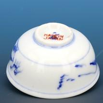 Vintage Open Salt Dip Cellar Hand Painted Japanese Sauce Dish CCC image 2