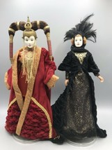"Queen Amidala Lot 12"" Star Wars Episode I Black Travel Gown Red Senate 1999 - $65.06"