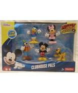 Mattel Disney Clubhouse Pals 5PK Mickey Donald Minnie Goofy Pluto Figure... - $24.70