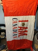 """Molson Canadian Lager Beer Flag I Am Canadian 35"""" x 60"""" - $19.79"""