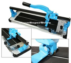 "TABLE TOP 24"" TILE CUTTER W/ HEAVY DUTY EXTRUDED ALUMINUM BASE SLIDE CUT... - $82.99"