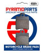 Front Brake Pads for MBK 50 Booster Spirit 2000 - $17.38