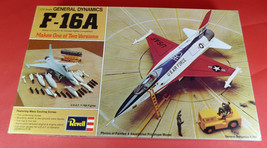 Vintage 1976~REVELL~1/72 General Dynamics F-16A~2 VERSIONS~Model Kit~COM... - $33.24