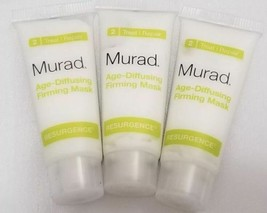 3X Murad Age Diffusing Firming Mask Resurgence, Erase Lines and Wrinkles... - €8,35 EUR