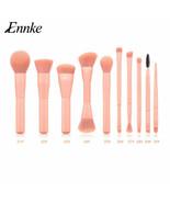 ENNKE® Makeup Brushes 10pcs/lot Women Soft Synthetic Hair Wood Handle Ma... - $23.00