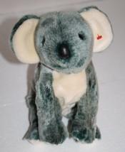 "Ty Beanie Buddies Eucalyptus Koala Bear 11"" Gray Plush Stuffed Soft Toy 1999 - $16.35"