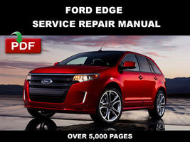Ford Edge 2011 Service Repair Maintenance Manual - $14.95