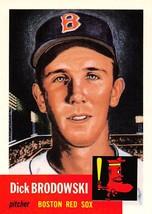 1991 Topps Archives #69 Dick Brodowski > 1953 > Boston Red Sox - $0.99
