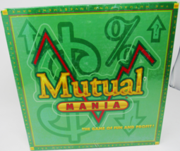 Mutual Mania Board Game The Mutual Fund Investment Game Game of Fun and ... - $29.99