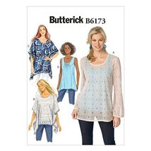 Butterick Patterns B6173A50 Misses' Tunic Sewing Template and Top, A5 (6-8-10-12 - $14.70