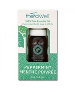 TheraWell Peppermint 100% Pure Essential Oil Aromatherapy 10ml Dropper - $16.82