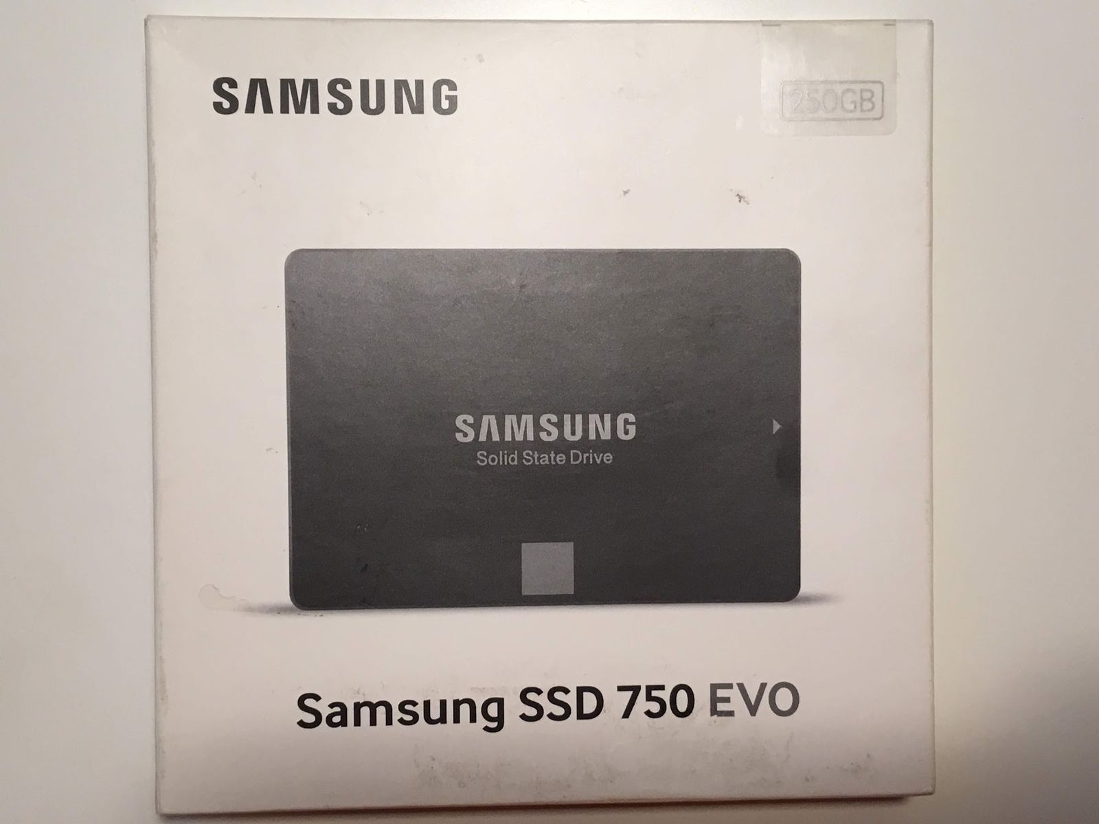 "Primary image for SAMSUNG 750 EVO 250GB 2.5"" SATA 3 INTERNAL SSD MZ-750250BW SOLID STATE DRIVE"