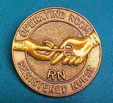 RN Operating Room Nurse Lapel Pin Graduation Professional Emblem 5052 New image 3
