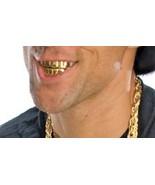 Grillz Vampire Fangs 14k Gold Plated Fang Grillz Set Vampire Teeth Free... - $23.55