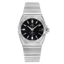 Omega Constellation Double Eagle Black Dial Automatic Mens Watch 1501.51.00 - $2,337.47