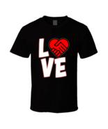 Love Is A Deal Heart  T Shirt - $17.99+