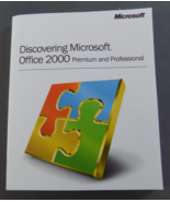 Discovering Microsoft Office 2000 Premium/Professional User Guide - $8.50