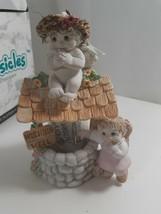 "Dreamsicles Angels Figurine-""Wishing Well"" (2q) NIB - $29.70"