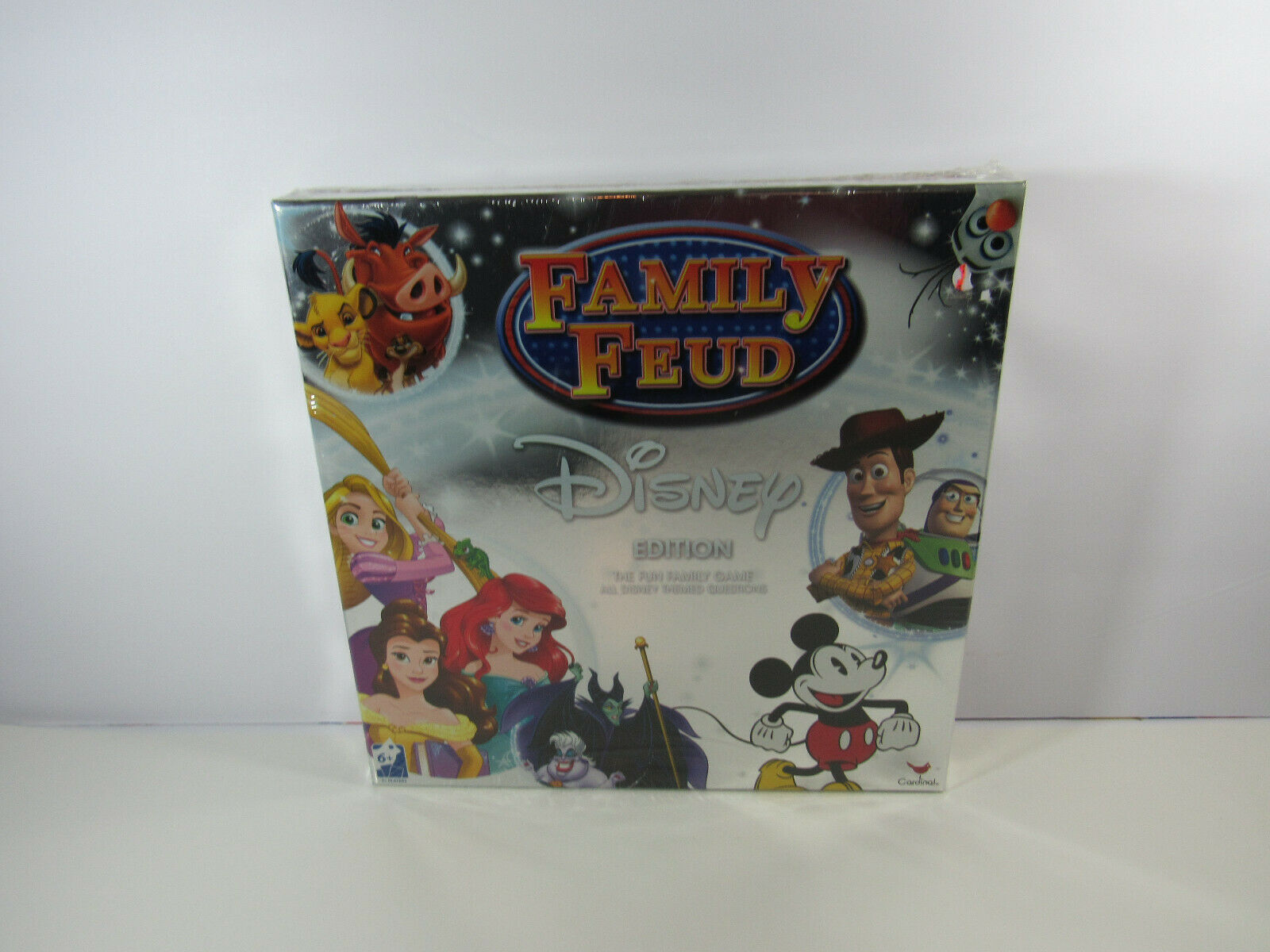 Primary image for Family Feud Disney Edition Board Game