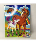Lisa Frank RAINBOW CHASER LOLLIPOP FOLDER Vintage Horse EUC - $29.47