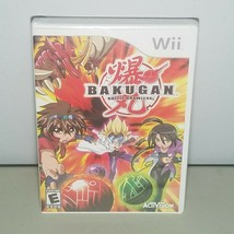 Bakugan Battle Brawlers Wii Video Game 2009 Activision New - $9.75