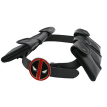Xcoser Costumes X-Men Deadpool Cosplay Deadpool Belt Cosplay Props - $50.06 CAD