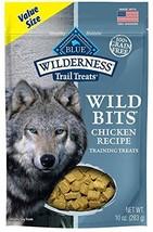 Blue Buffalo Wilderness Trail Treats Wild Bits High Protein Grain Free Soft-Mois