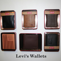 Levi's.Men's Passcase Billfold Wallet.NEW IN BOX - $19.99