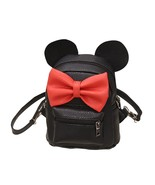 Fashion New Mickey Backpack Female Mini Bag Women's(black) - $24.81
