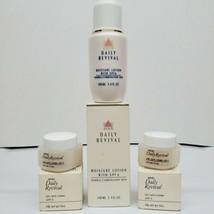 Vintage Lot Avon Daily Revival Moisture Lotion Normal Skin & Eye Care Creme SPF6 - $19.99