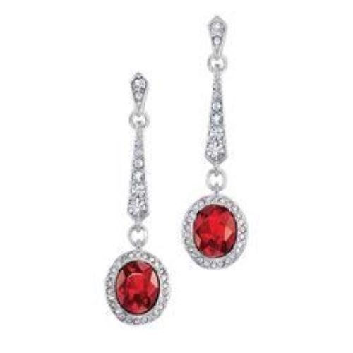 Avon ravishing red earrings 3