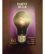 Party Bulb 60 Watts Medium Halloween  - $12.75