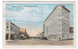 Hotel St Helens Chehalis Washington 1927 postcard - $5.50