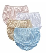 Nylon Panty Size:6-7-8-9-10-11 Brief Style Panties USA Made Style 3 Pack - $12.97