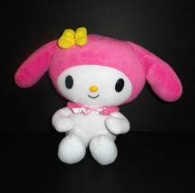 "Sanrio My Melody Plush Doll Hello Kitty Pink White 2007  stuffed bunny toy 10"" - $14.84"