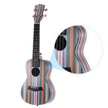 Ic soprano ukelele wooden 18 frets 4 strings guitar okoume neck rosewood fingerboard 10 thumb200