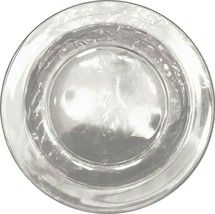 "Arcoroc France Crystal / Clear Salad Plate - 7 1/2"" - $11.99"