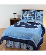 North Carolina Tar Heels Comforter Sham Bedskirt Pillowcase Twin to King CC - $126.90+