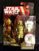 "Star Wars Episode VII - Goss Toowers 3.75"" Figure by Disney/Hasbro New MIB - $8.75"