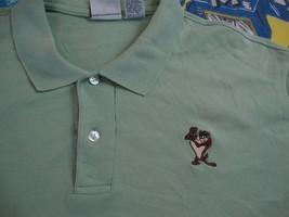 Vintage 90's TAZ Sewn Logo Tasmanian Devil 1995 Polo Golf Looney Tunes S... - $19.65