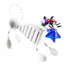 Saul Montesinos Day of the Dead Kitty Cat w Starfish Clay Folk Art Figurine image 5