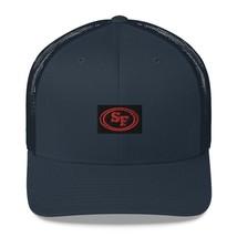 San Francisco hat / 49ers hat // San Francisco Trucker Cap Cap image 4