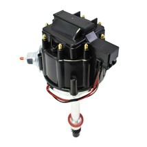 Chevy/GM Small Block Big Block 65K HEI Distributor Black Cap 283 327 350 396 454