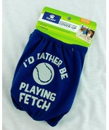 Top Paw Male Dog Cover Up Wrap Diaper Belly Band Medium Rather Play Fetc... - $10.99