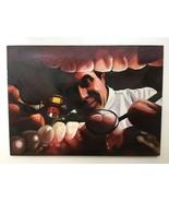 """"""" The Dentist; an Innen Blick """" Original Ölgemälde Steve Woron - $2,459.35"""