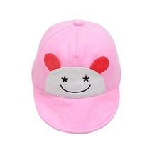 Sunscreen Breathable Baby Cuff Cotton Baseball Cap Visor Cap Baby Hat image 2