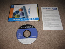 Sun StarOffice 6.0 (PC Home & Office), Great Condition Star Office 6 - $29.99
