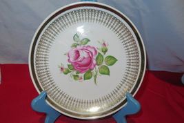 Wiuterling Kirchonlamitz Bavaria Rose Plate - $20.00