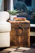 Cedar Creek Sculptures - Rustic Throne Cube - Fire Pit Chair - Bench - T... - $325.00
